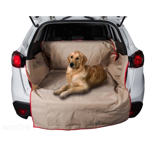 Автогамак для собак AvtoTink 73005/1 215х120х40 см бежевый