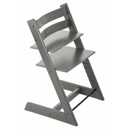 Купить Растущий стульчик Stokke Tripp Trapp из бука, серая буря, Стульчики для кормления