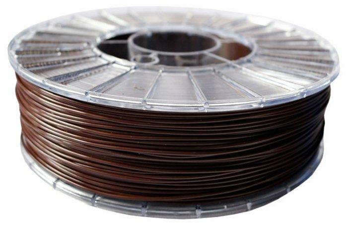 PLA ECOFIL пруток СТРИМПЛАСТ 1.75 мм шоколадный