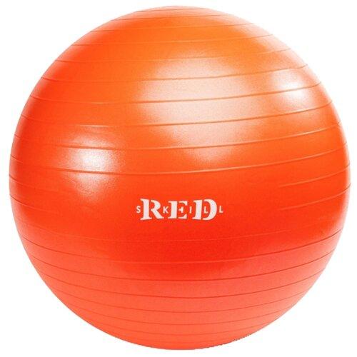 Фитбол RED Skill для занятий фитнесом, 55 см красный