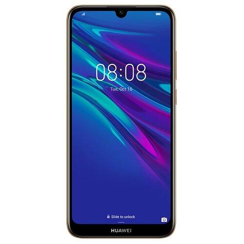 Купить Смартфон HUAWEI Y6 (2019) янтарный коричневый