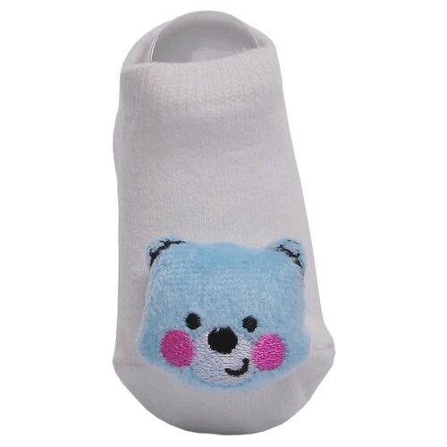 Купить Носки Lansa размер 18-20, белый/голубой