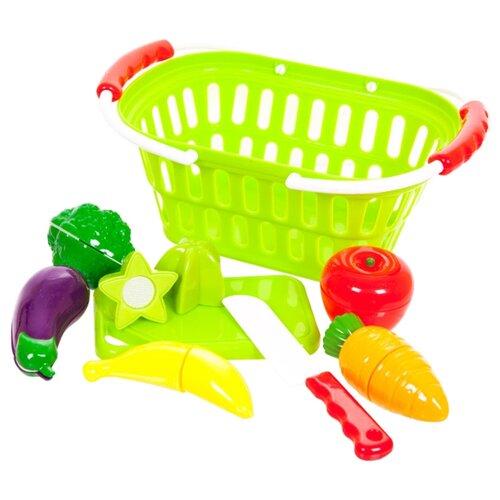 Набор продуктов с посудой ABtoys Помогаю маме PT-00470 разноцветный