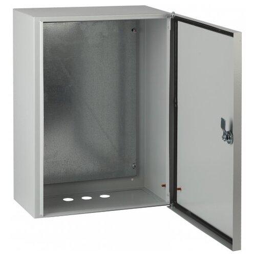 Щит распределительный ЭРА ЩМП-1-0 76 У2 IP54 навесной, металл, серый щит эра щу 1 1 0 3 ip54 1 дверь
