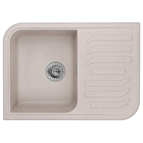 Фото - Врезная кухонная мойка 69.5 см Granula 7001 антик врезная кухонная мойка 57 5 см granula 5802 антик