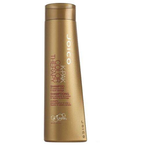 Фото - Joico шампунь K-Pak Color Therapy восстанавливающий для окрашенных волос 300 мл joico мусс для укладки с термозащитой k pak 300 мл