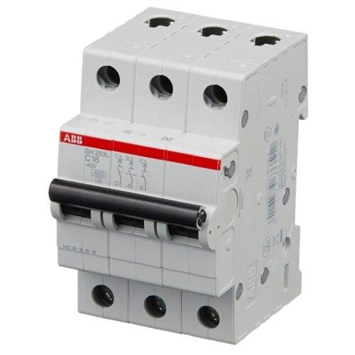 Автоматический выключатель ABB SH203L 3P (С) 4,5kA 20 А фото
