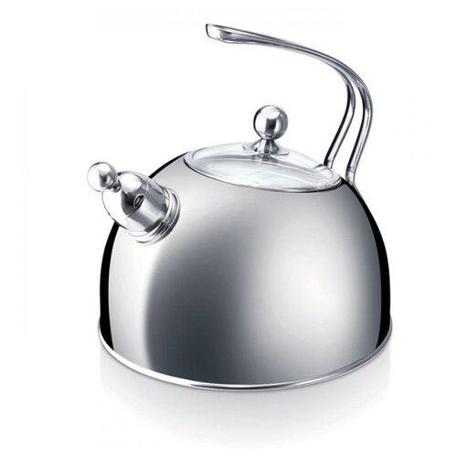 Beka Чайник со свистком Melbourne 20122220 2.5 л, серебристый