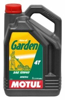 Масло для садовой техники Motul Garden 4T 15W40 5 л