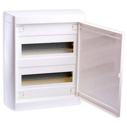 Щит распределительный Legrand 601237 навесной, пластик, модулей 24 белый