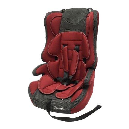 Автокресло группа 1/2/3 (9-36 кг) Carmella 513 RF, deep red/black dot группа 1 2 3 от 9 до 36 кг carmella 513 rf и protectionbaby защитная накидка на спинку переднего сиденья автомобиля