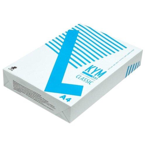Фото - Бумага Kym Lux A4 Classic 80 г/м² 500 лист. белый подвесной светильник crystal lux woody sp1 30