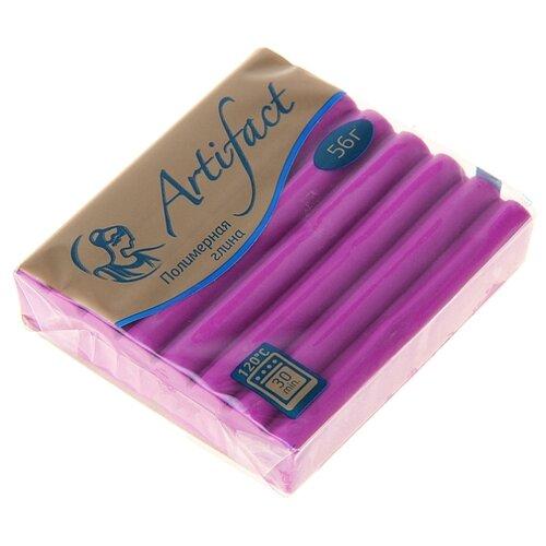 Фото - Полимерная глина Artifact Advanced formula пурпурная (415), 56 г полимерная глина artifact lapsi glitter 9 классических цветов с блестками 7109 78 180 г