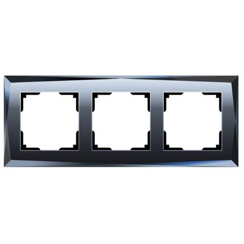 Рамка 3п Werkel WL08-Frame-03, черный