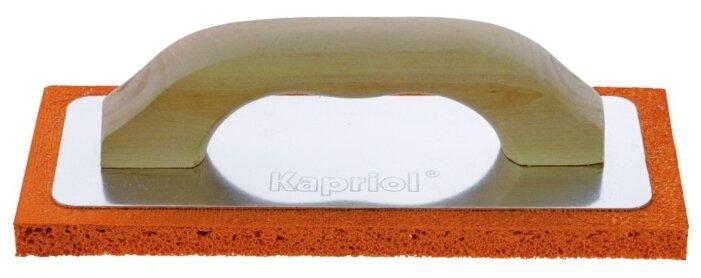 Тёрка для шлифовки штукатурки с губкой Kapriol
