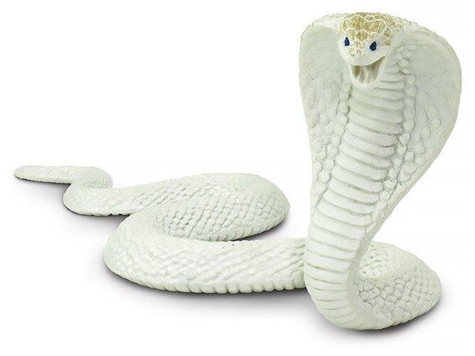 Фигурка Safari Ltd Белая кобра 225829