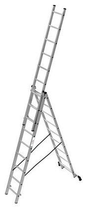 Лестница телескопическая 3-секционная ОЛИМП 1230309 A