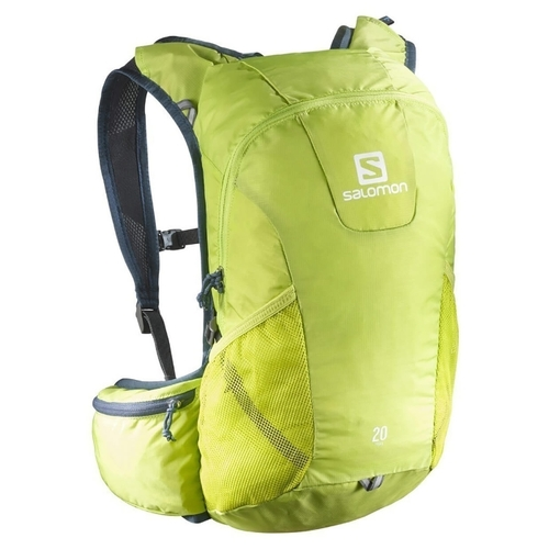 pas mal 97a11 bb906 Рюкзак Salomon Trail 20 lime punch/vintage indigo