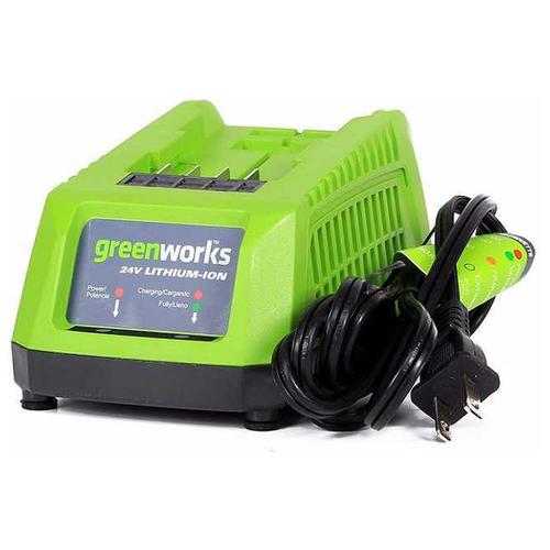 Зарядное устройство greenworks G24C 2903607 24 В зарядное устройство greenworks g60uc