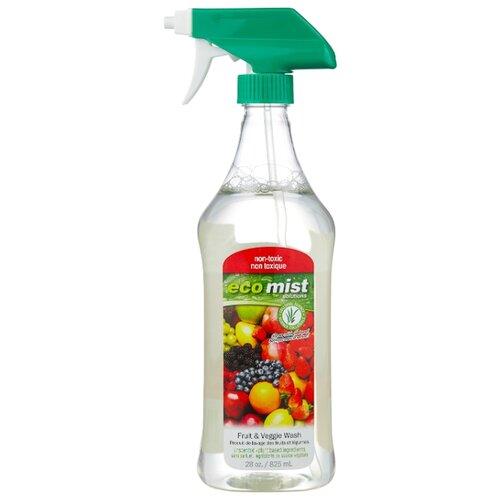 Eco mist Спрей для мытья фруктов и овощей 0.825 л с дозатором eco mist средство для чистки мебели и уборки в кабинете 0 825 л