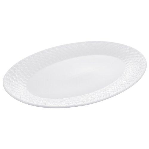 Millimi Блюдо Жемчуг 30,5 х 21 см белый