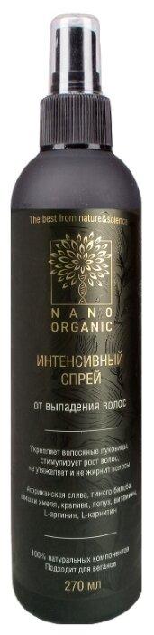 Nano organic Спрей от выпадения волос для кожи головы