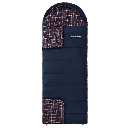 Спальный мешок TREK PLANET Belfast XL Comfort синий с правой стороны спальный мешок trek planet glasgow 70331