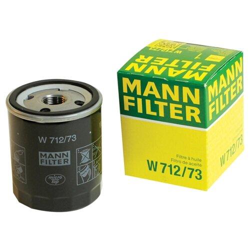 Масляный фильтр MANNFILTER W 712/73 масляный фильтр mannfilter w 712 4