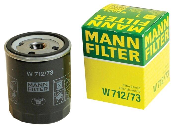 Масляный фильтр MANNFILTER W712/73