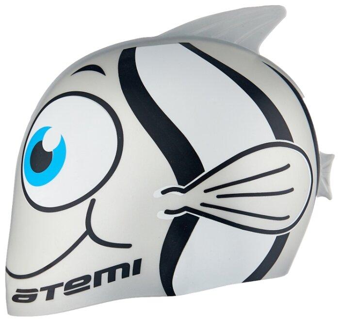 Шапочка для плавания ATEMI Рыбка FC202/FC203 черный