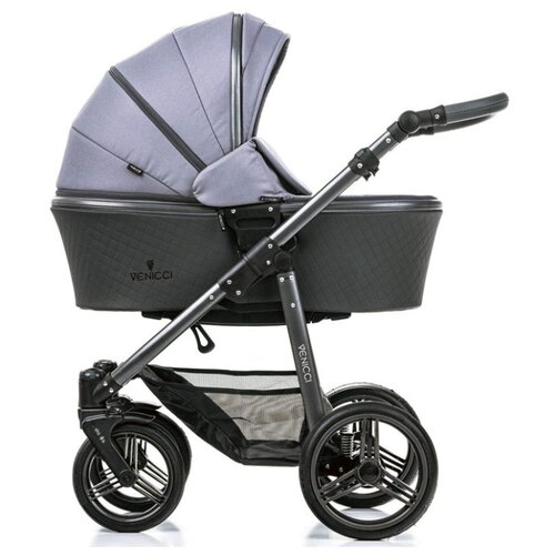 Универсальная коляска Venicci Carbo (2 в 1) Natural Grey, Коляски  - купить со скидкой