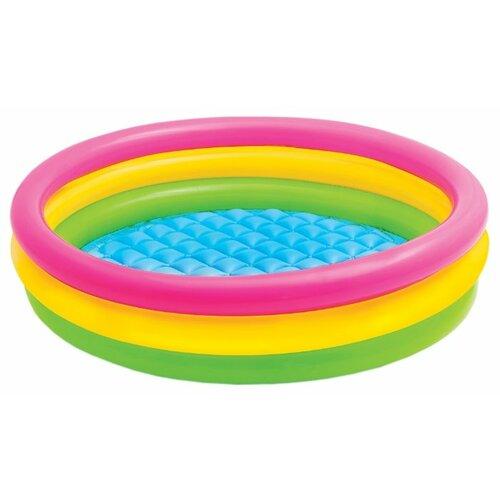 Детский бассейн Intex Sunset Glow Three Ring 57412