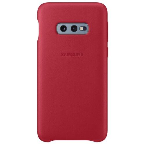 Купить Чехол Samsung EF-VG970L для Samsung Galaxy S10e красный