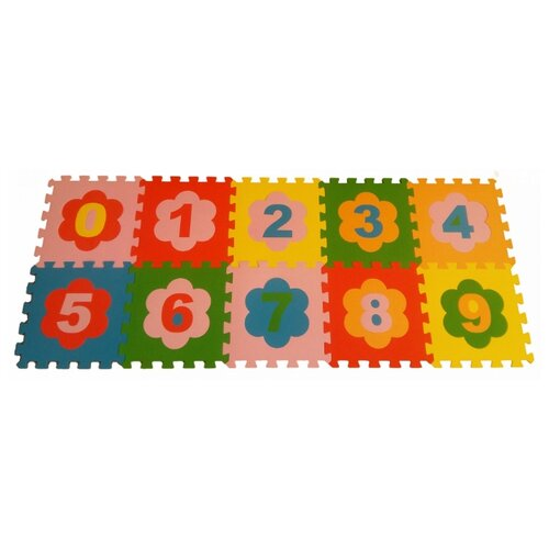 Купить Коврик-пазл ЭкоПолимеры Цифры (33МП1/Ц), Игровые коврики