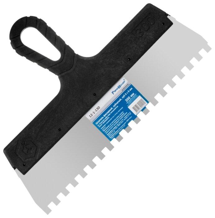 Шпатель зубчатый РемоКолор 12-1-130 300 мм