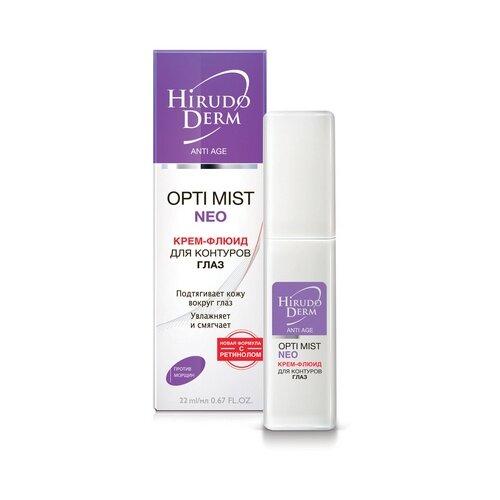 Крем-флюид Hirudo Derm Opti mist Neo для контуров глаз, 22 мл недорого