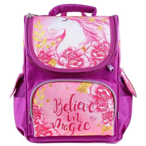 Купить Calligrata Ранец Believe in Magic (4152096), розовый, Рюкзаки, ранцы