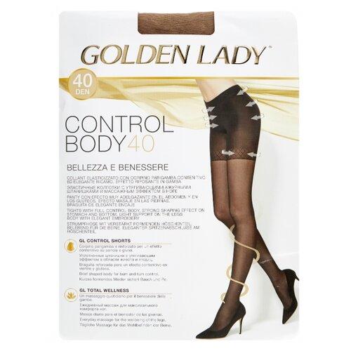 Колготки Golden Lady Control Body 40 den, размер 5-XL, melon (бежевый) шлем melon decent double grey матовый xl xxl 58 63 см 162703