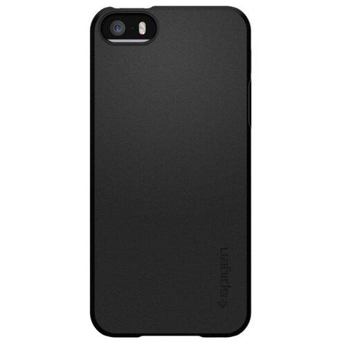 Купить Чехол Spigen 041CS20168 для Apple iPhone 5/iPhone 5S/iPhone SE черный