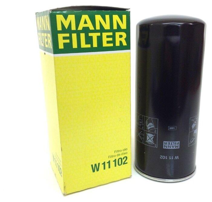 Масляный фильтр MANNFILTER Mann W11102