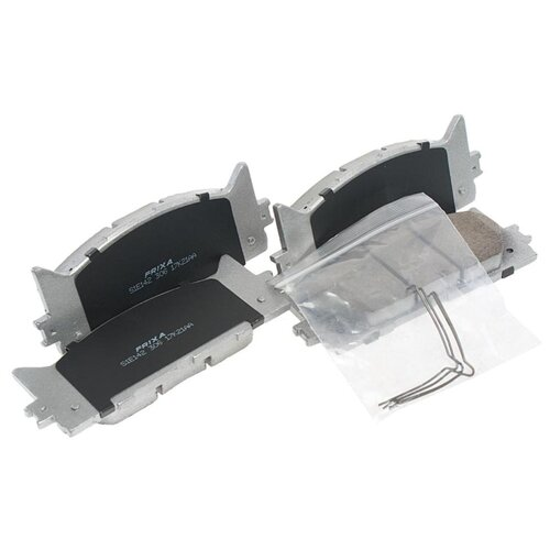 Фото - Дисковые тормозные колодки передние Frixa S1E142 для Toyota Camry (4 шт.) дисковые тормозные колодки передние nibk pn1521 для toyota camry 4 шт
