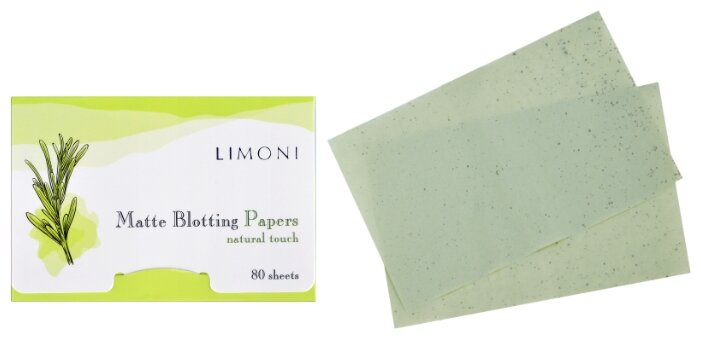 Limoni Матирующие салфетки для лица Matte Blotting Papers