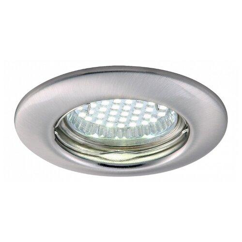 Встраиваемый светильник Arte Lamp A1203PL-1SS встраиваемый светильник arte lamp a1203pl 1go