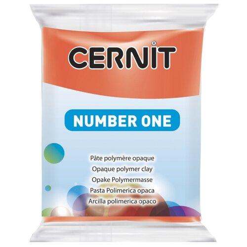 Купить Полимерная глина Cernit Number one красный мак (428), 56 г, Глина
