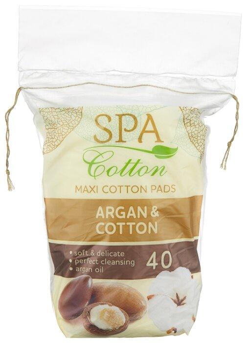 Ватные диски Spa cotton Argan & Cotton