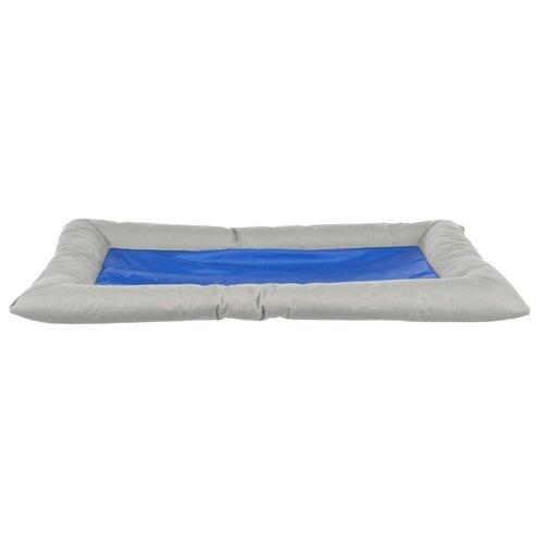 Лежак для собак TRIXIE Cool Dreamer 75х50 см серый/синий