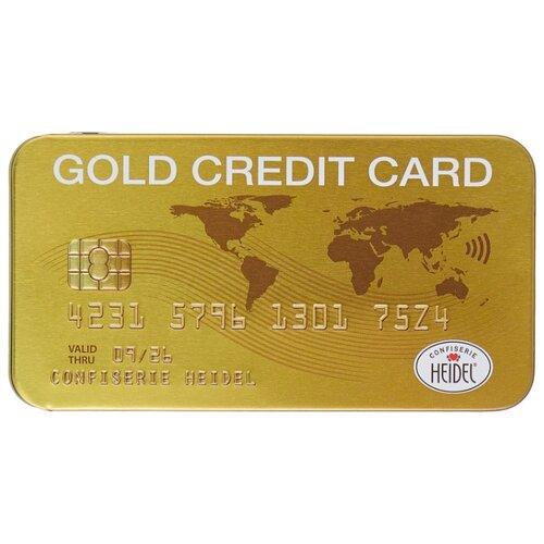 Шоколад Heidel молочный Golg Credit Card, 30 г шоколад heidel молочный планшет 90 г