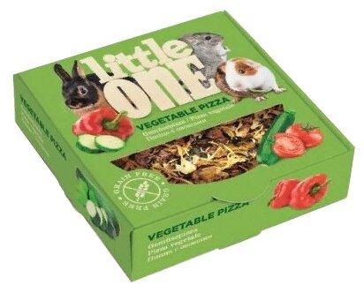 Лакомство для кроликов, грызунов Little One Vegetable pizza