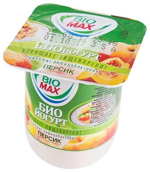 Йогурт Biomax витаминов персик 2.5%, 125 г