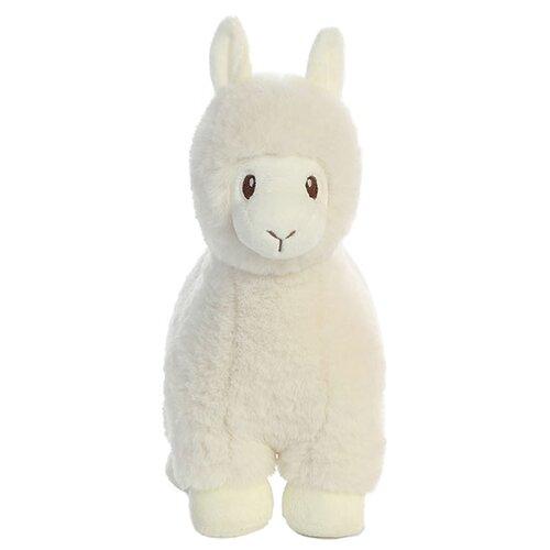 Мягкая игрушка Aurora Лама кремовая 30 см фото